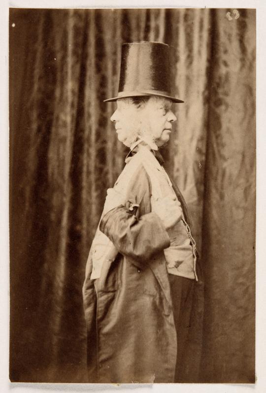 Hippolyte Bayard Double autoportrait de profil  Photo (C) RMN-Grand Palais / René-Gabriel Ojéda Nemours, château-musée