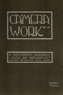 Copertina di Camera Work - April 1903